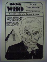 Doctor Who The Aztecs CMS In-Vision RARE